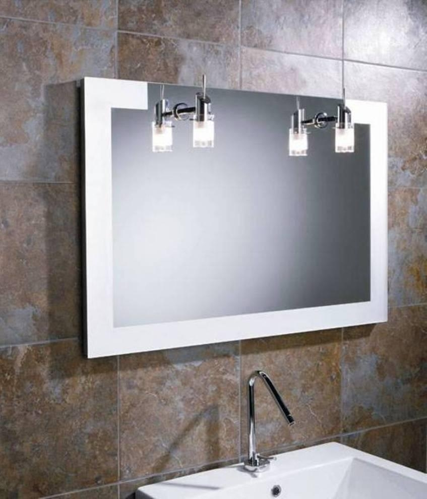 Bathroom Lighting : Lights Over Bathroom Mirror Interior Design Within Bathroom Mirrors Lights (View 6 of 20)