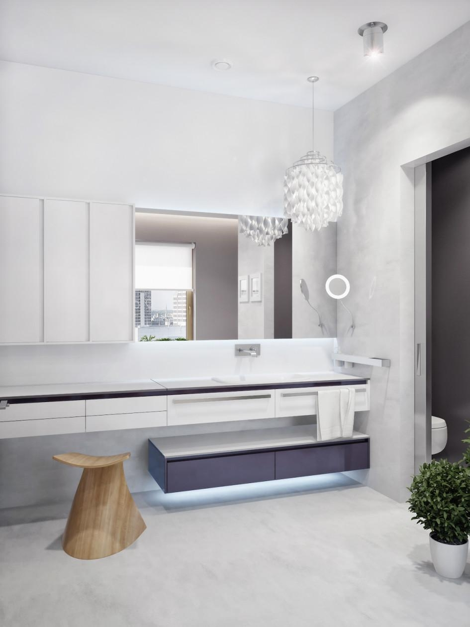 Bathroom Lighting : View Led Strip Lights For Bathroom Mirrors With Regard To Led Strip Lights For Bathroom Mirrors (Image 5 of 20)