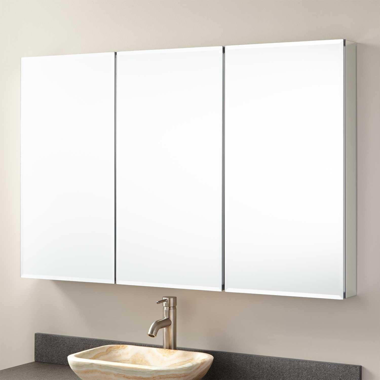 Bathroom Medicine Cabinets | Signature Hardware Regarding Bathroom Medicine Cabinets With Mirrors (Image 8 of 20)