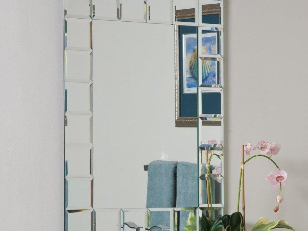 Bathroom : Mirror For Bathroom 3 Bathroom Mirrors With Also A With Bevelled Bathroom Mirrors (Image 1 of 20)