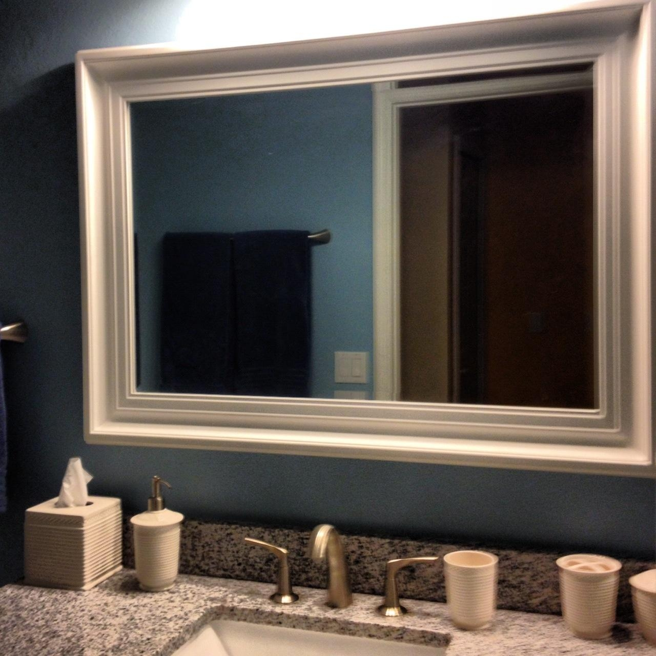 Bathroom Mirror Frames | Home Designjohn Regarding Frames Mirrors (Image 3 of 20)