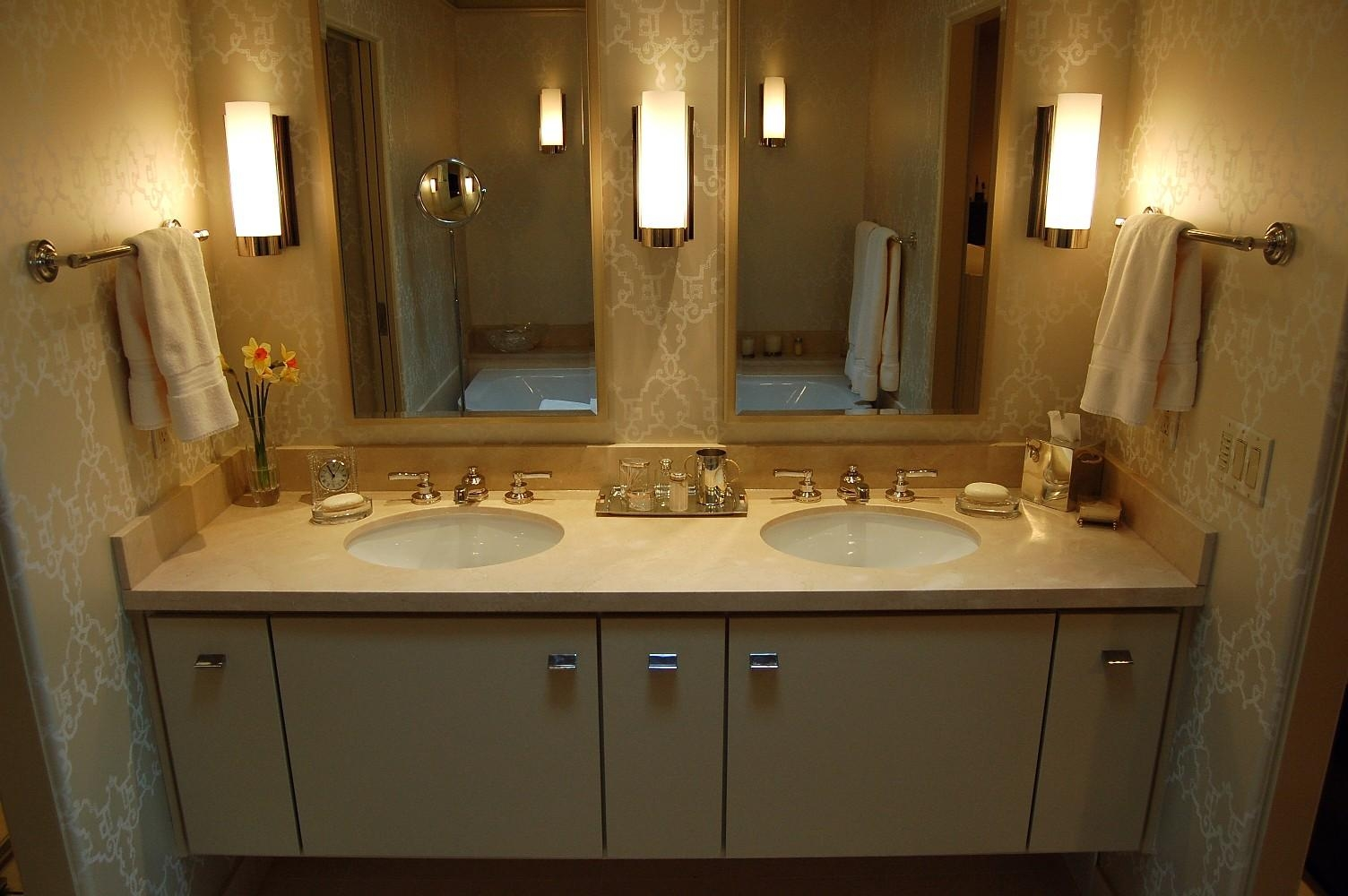 Bathroom Mirror Ideas For Double Vanity Gallery And Mirrors Images Inside Double Vanity Bathroom Mirrors (View 18 of 20)