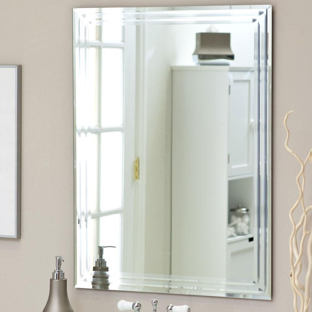 Bathroom Mirrors : Bevelled Bathroom Mirror Best Home Design With Regard To Bevelled Bathroom Mirrors (Image 8 of 20)