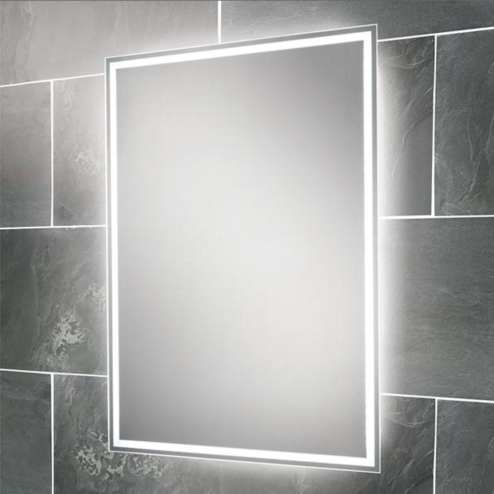Bathroom Mirrors : View Illuminated Bathroom Mirrors Led Design Regarding Led Illuminated Bathroom Mirrors (Image 9 of 20)