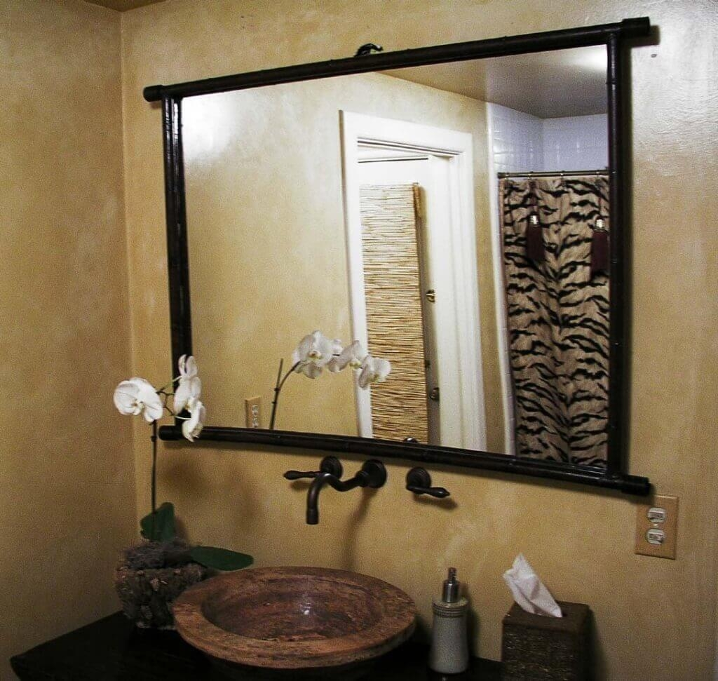 Bathroom: Oil Rubbed Bronze Custom Framed Bathroom Mirrors Light Intended For Seattle Custom Mirrors (View 2 of 20)