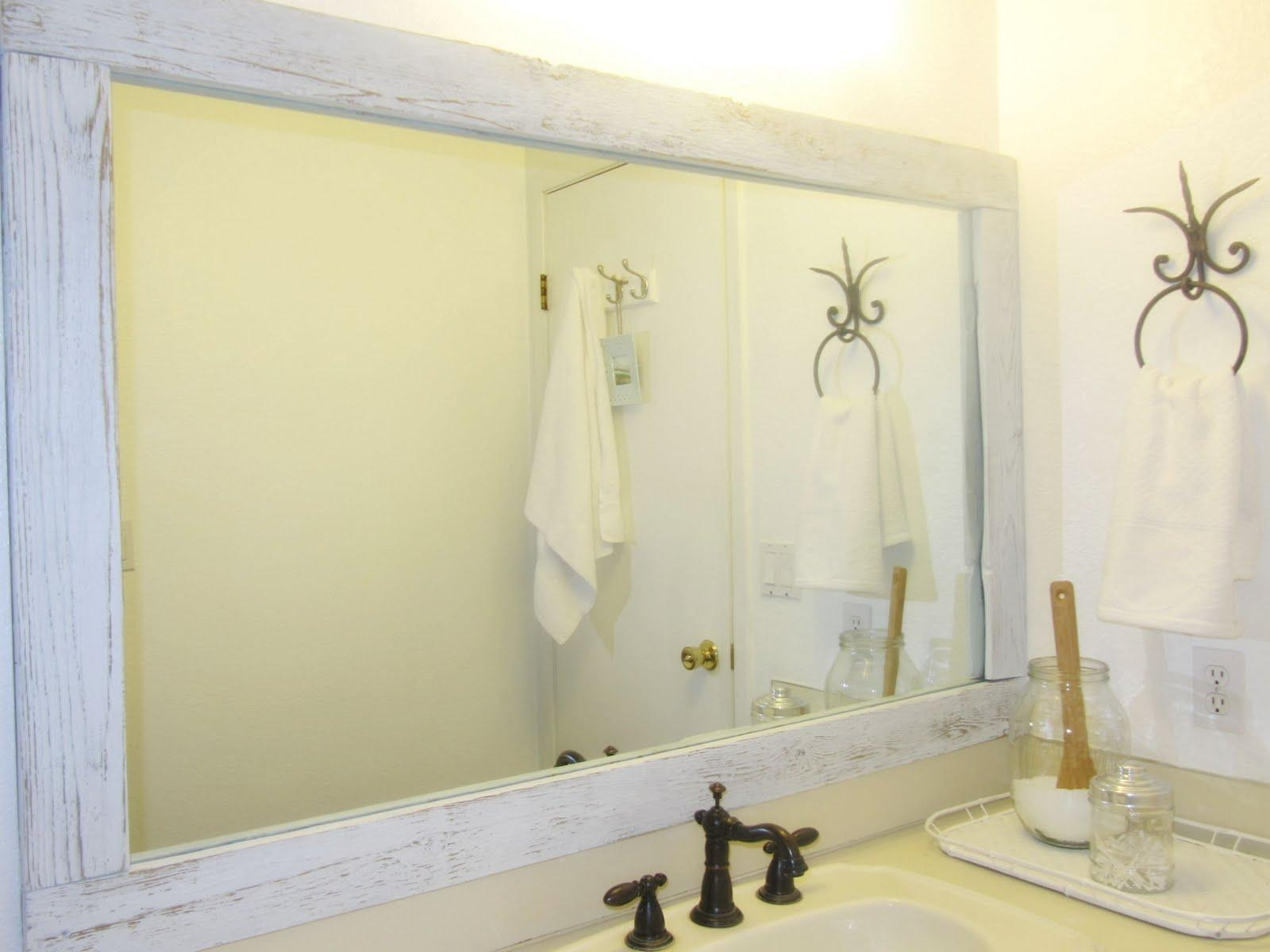 Bathroom : Superb Framed Bathroom Mirror Ideas Large Wall Mirrors Pertaining To Wall Mirrors For Bathrooms (Image 2 of 20)