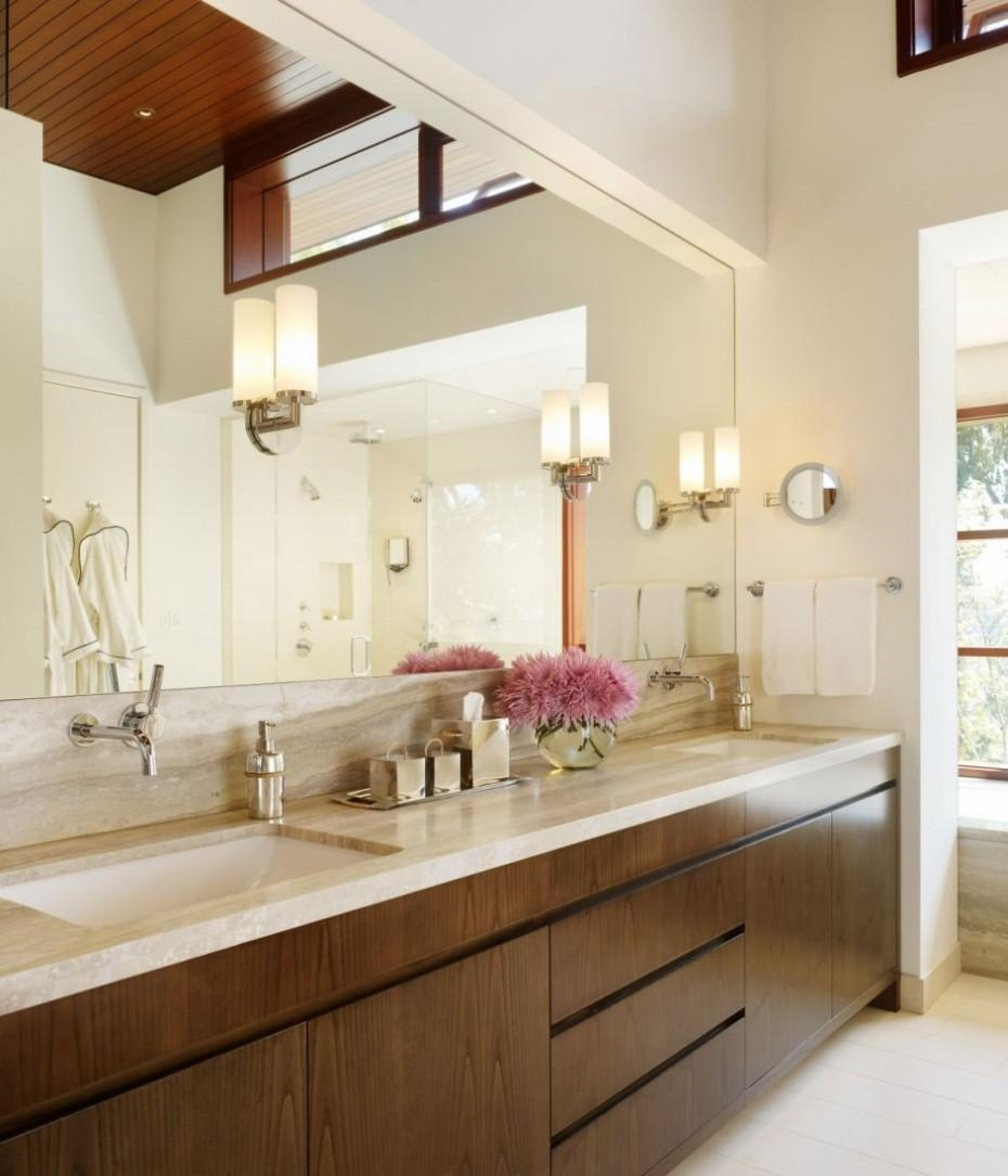 Bathroom: The Right Ways To Apply Bathroom Wall Mirror ~ Wayne For Large Mirrors For Bathroom Walls (Image 11 of 20)