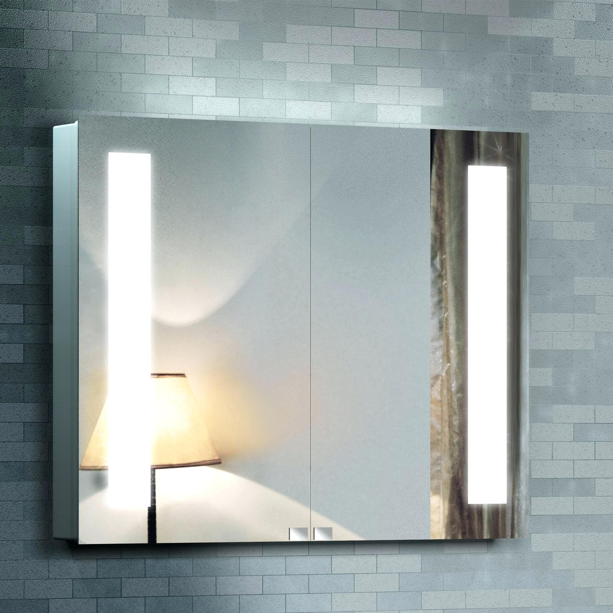 Bathroom : Unusual Ikea Storjorm Mirror Review Vanity Mirror With With Vanity Mirrors With Built In Lights (Image 2 of 20)