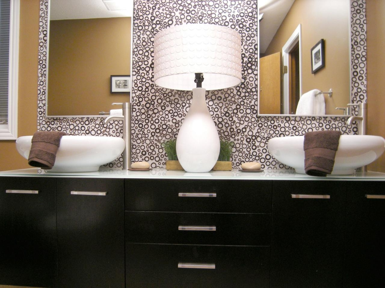 Bathroom Vanity Mirrors | Hgtv For Double Vanity Bathroom Mirrors (Image 8 of 20)