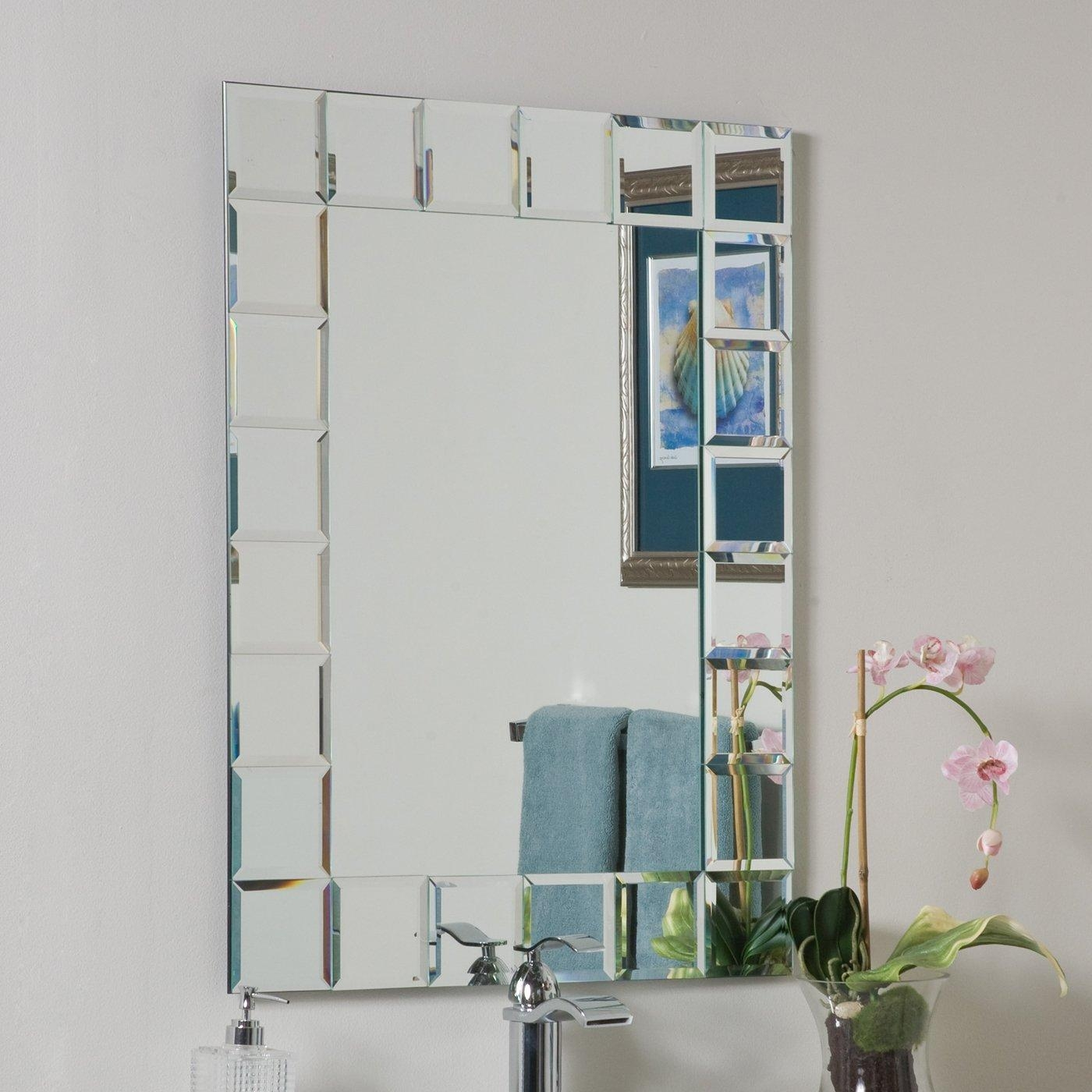 Bathroom & Vanity Mirrors | Lowe's Canada Intended For Rona Mirrors (Image 1 of 20)