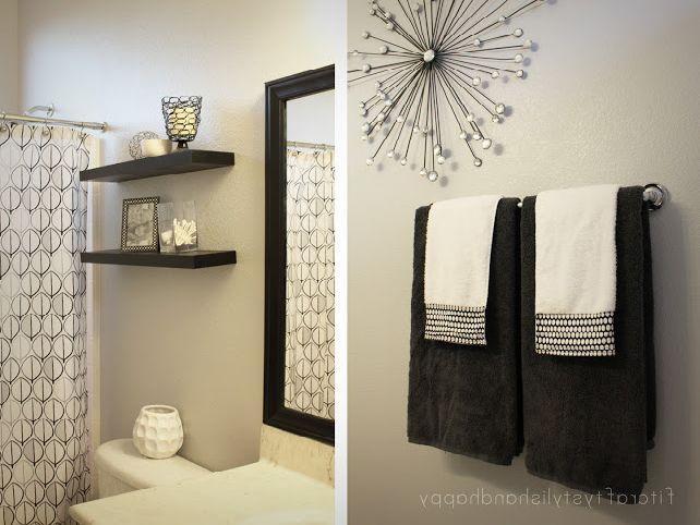 Bathroom Wall Decor Ideas (View 14 of 20)