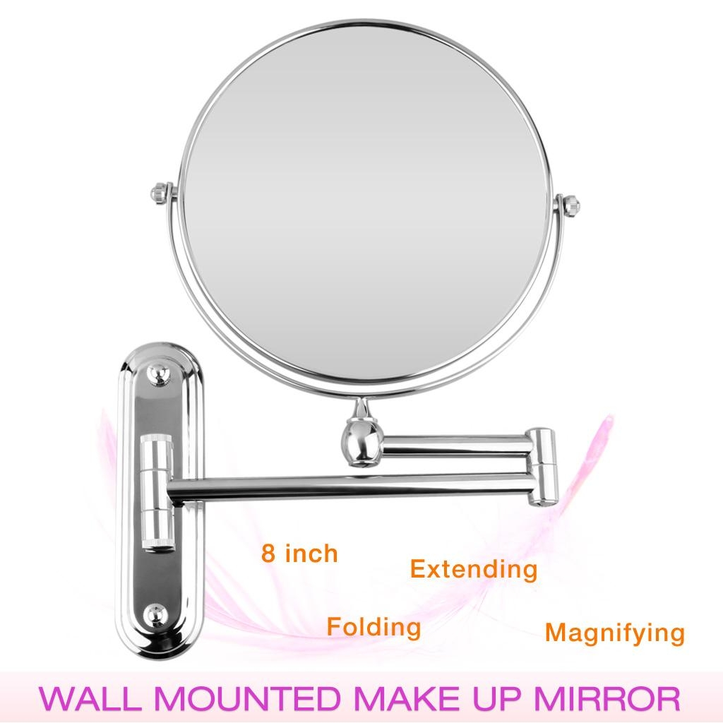 Bathroom Wall Mirrors | Bathroom Trends 2017 / 2018 Throughout Movable Mirrors (Image 5 of 20)