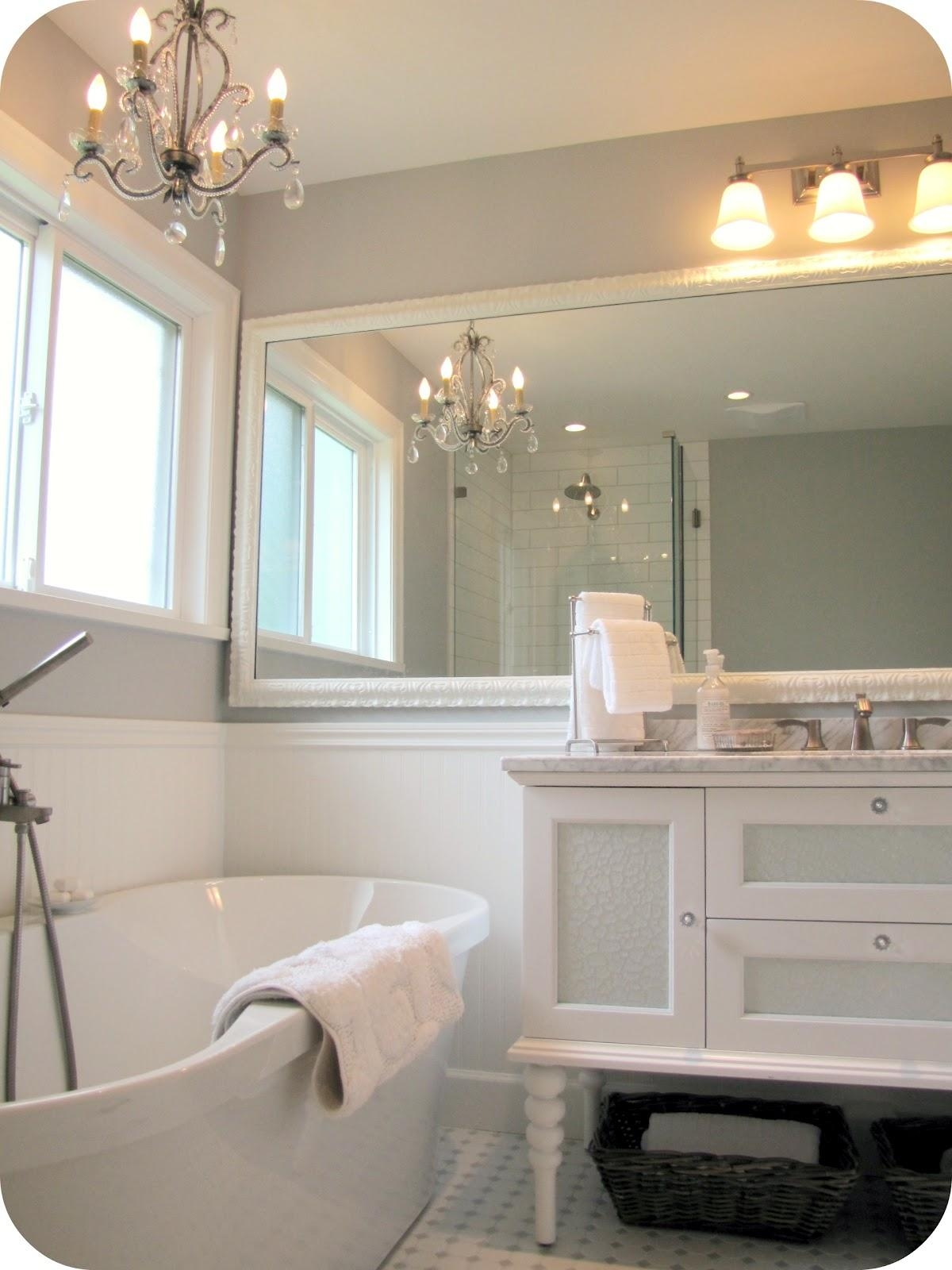 Bathroom Wall Mirrors – Dutchglow For Large Framed Bathroom Wall Mirrors (Image 8 of 20)