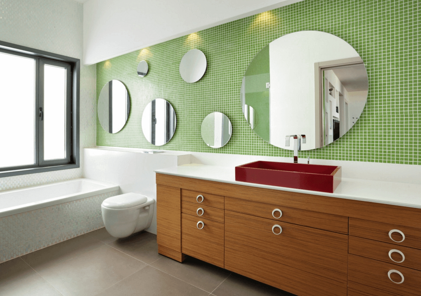 Bathrooms Design : Bathroom Medicine Cabinet With Mirror Large In Large Bathroom Wall Mirrors (Image 12 of 20)