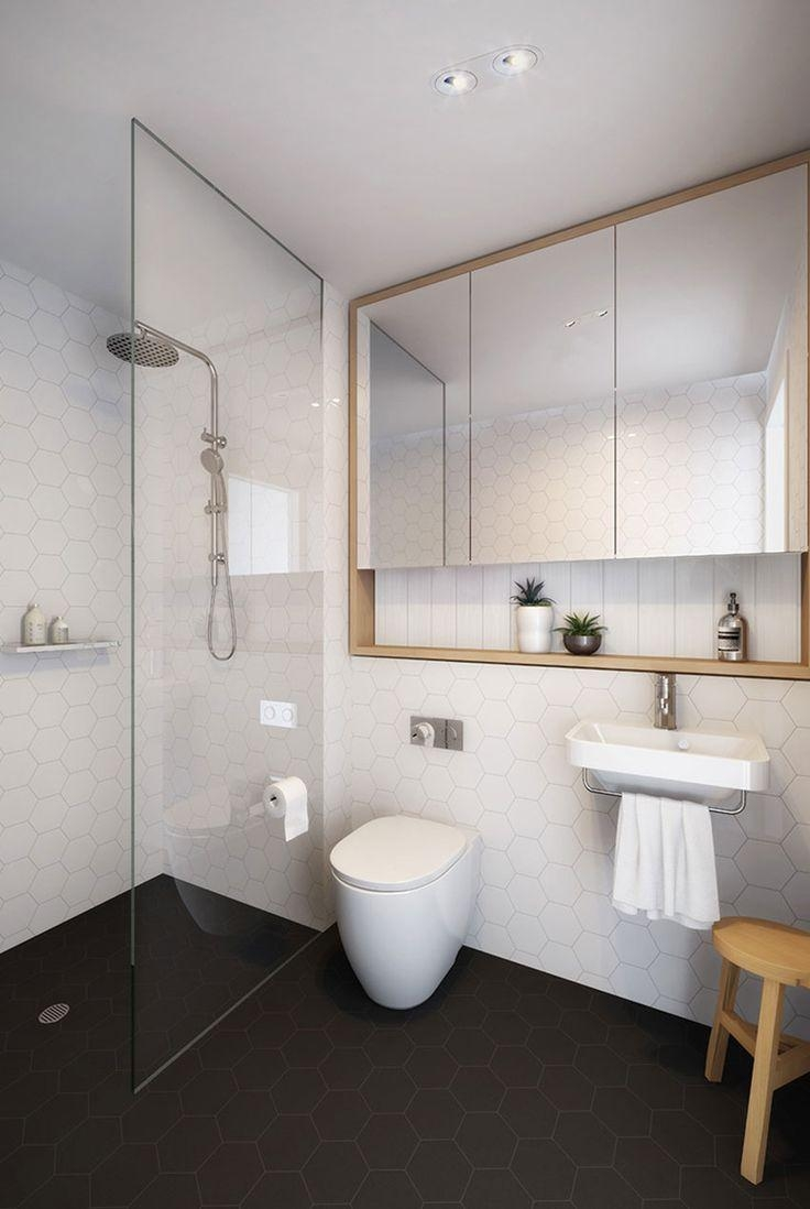 Bathrooms Design : Bathroom Wall Mirrors Black Bathroom Mirror Regarding Wall Mirrors For Bathrooms (View 19 of 20)