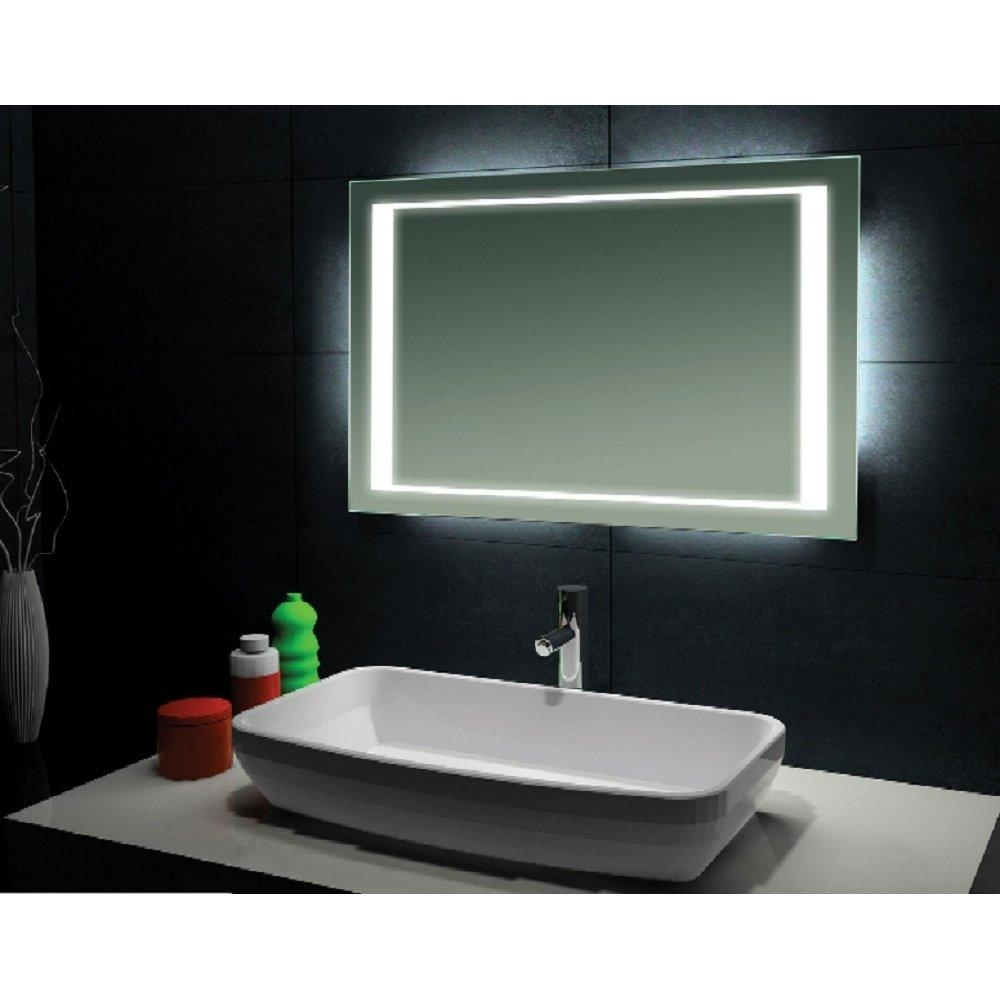 Bathrooms Design : Chic Bathroom Mirrors Brisbane Land Design For Modern Bathroom Mirrors (Image 7 of 20)