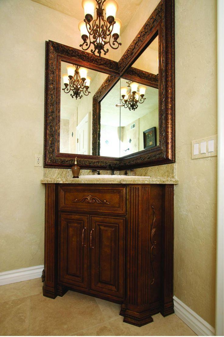 Bathrooms Design : Frameless Bathroom Mirror Vanity With Mirror Inside Small Bathroom Vanity Mirrors (Image 12 of 20)