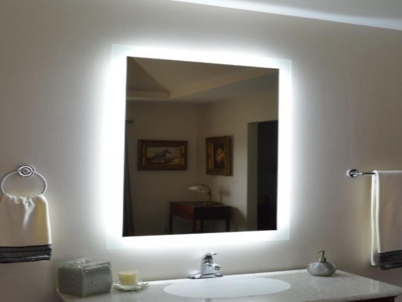 Bathrooms Design : Led Strip Lights For Bathroom Mirrors Home In Led Strip Lights For Bathroom Mirrors (Image 8 of 20)