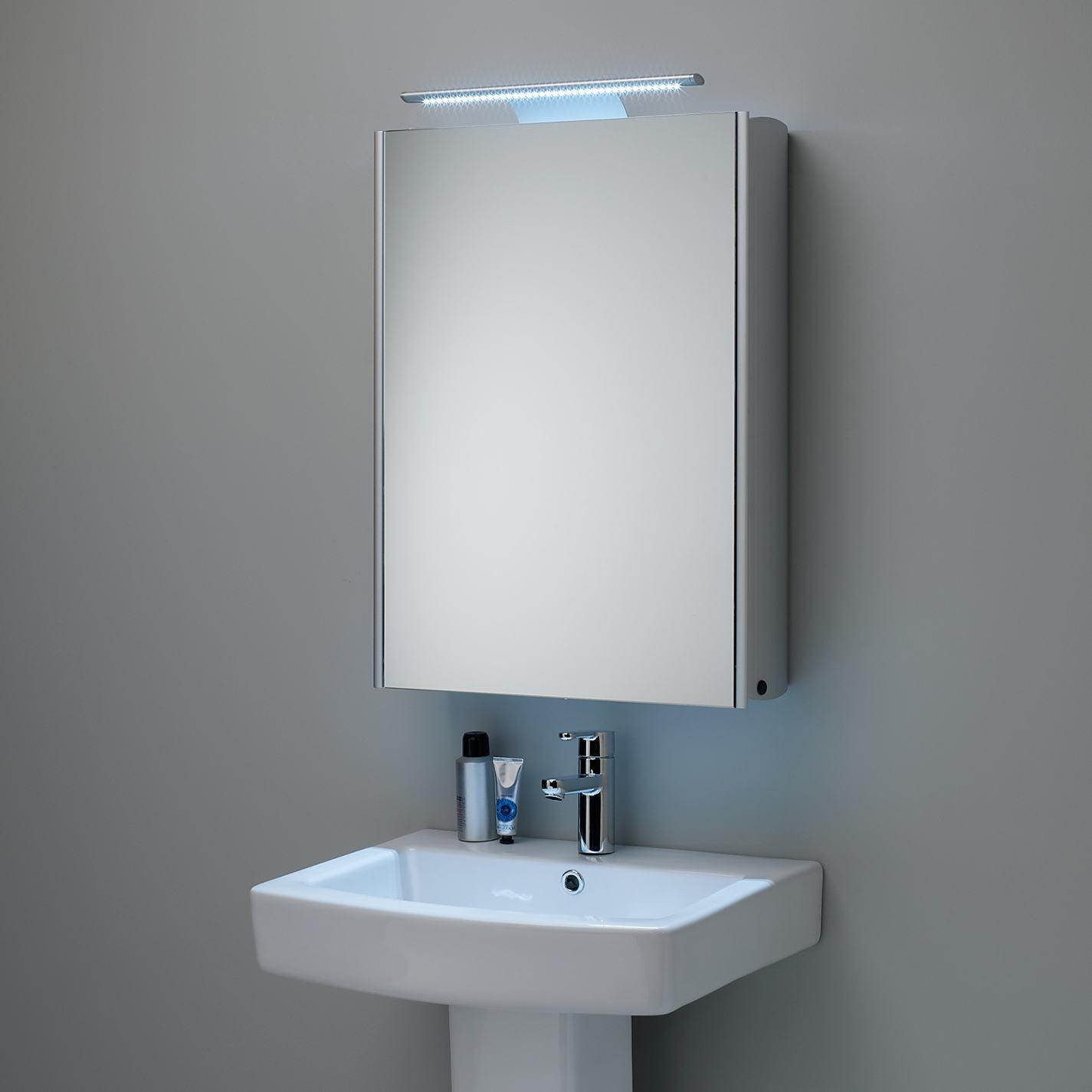 Bathrooms Design : Modern Bathroom Mirror Cabinets With Cabinet In Free Standing Bathroom Mirrors (Image 14 of 20)