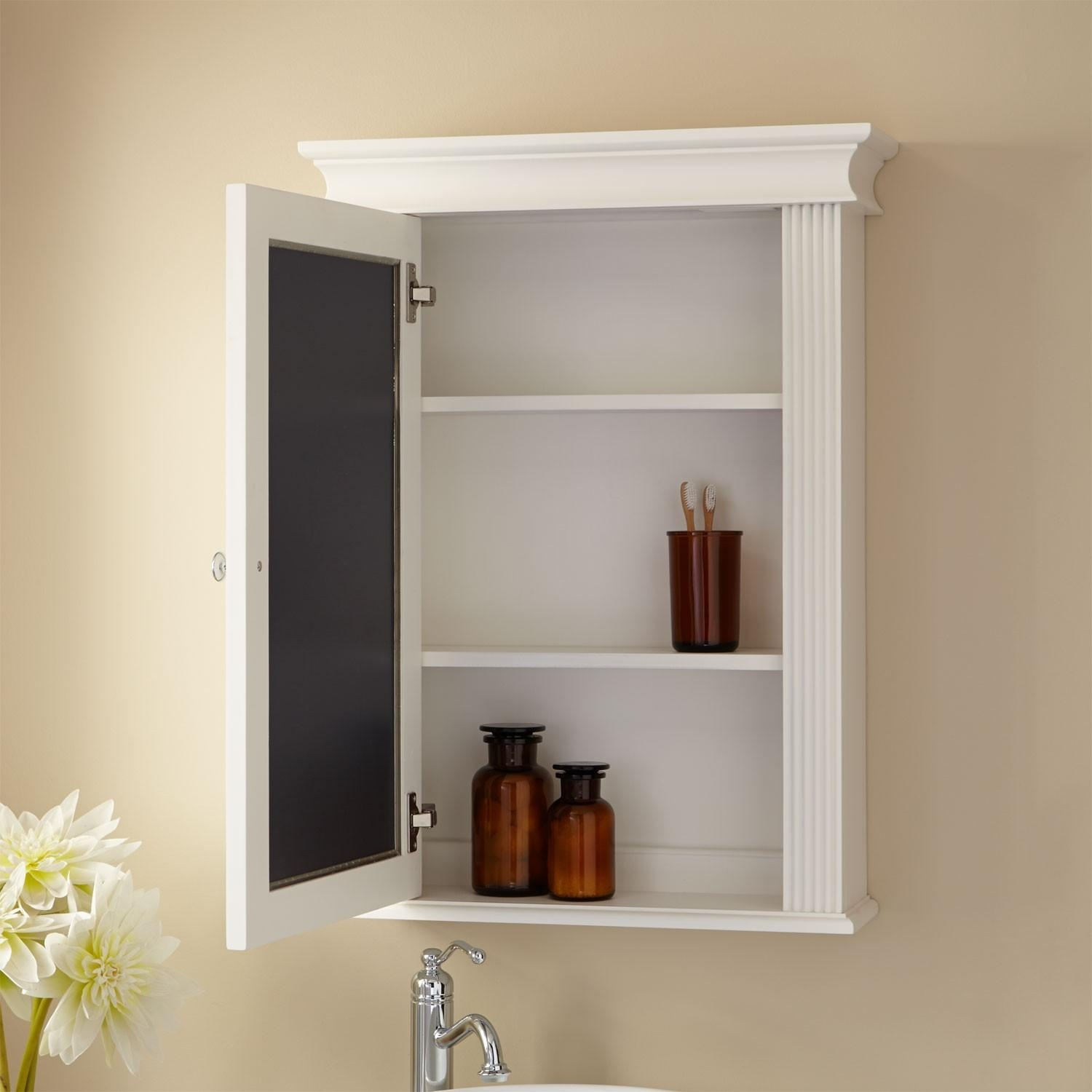 Bathrooms Design : Recessed Medicine Cabinets With Mirrors For Throughout Bathroom Cabinets Mirrors (Image 11 of 20)
