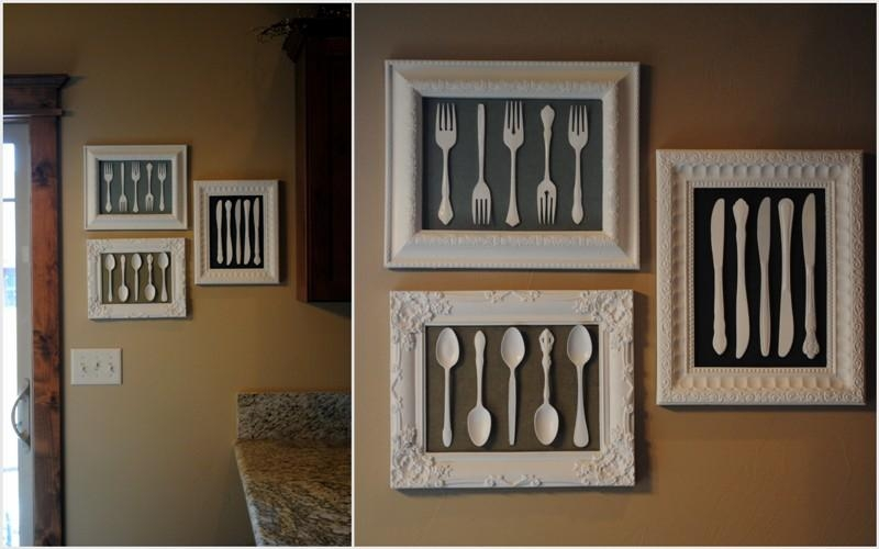 Be Differentact Normal: Utensil Wall Art Throughout Utensil Wall Art (View 9 of 20)