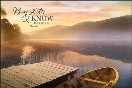 Be Still And Know That I Am God, Wall Art – Christianbook With Regard To Be Still And Know That I Am God Wall Art (View 5 of 20)