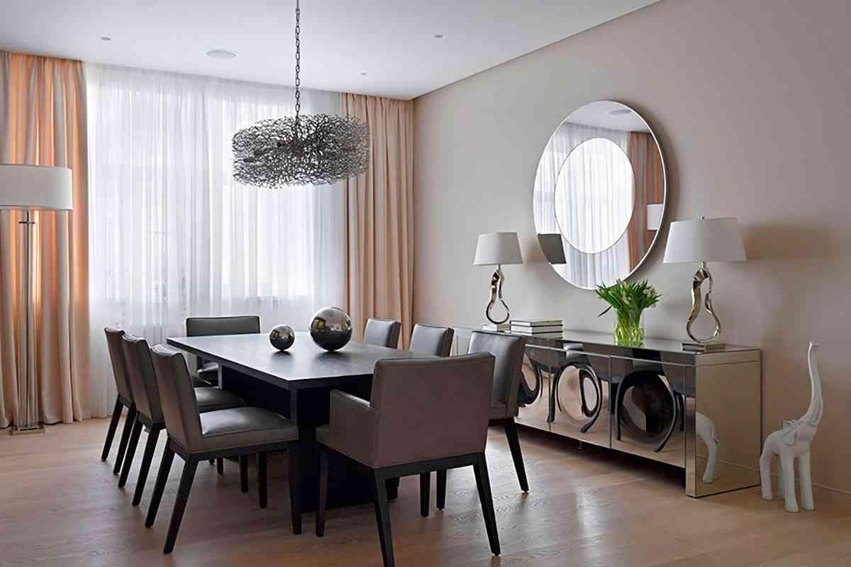 Beautiful Dining Room Mirror Wall Pictures Room Design Ideas In In Dining Mirrors (Image 4 of 20)