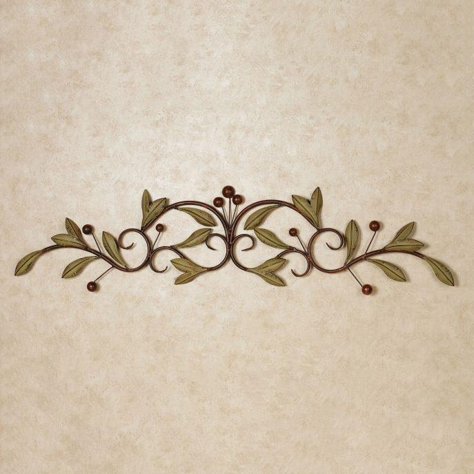Bedroom : Metal Wall Plaques Metal Wall Art Panels Iron Wall Pertaining To Italian Iron Wall Art (Image 7 of 20)