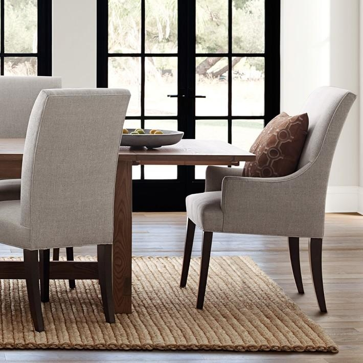 Belgian Extendable Dining Table | Williams Sonoma With Newest Extending Dining Tables With 6 Chairs (Image 3 of 20)
