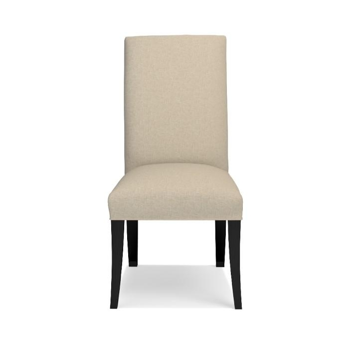 Belvedere Dining Side Chair, Quick Ship | Williams Sonoma With Most Recent Ivory Leather Dining Chairs (View 11 of 20)