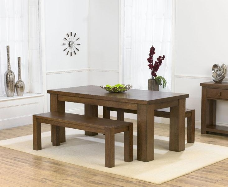 Bench Dining Sets – Insurserviceonline Throughout Recent 180Cm Dining Tables (Image 3 of 20)