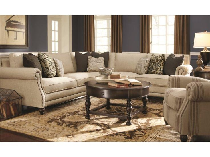 Bernhardt Living Room Brae Sectional 832270 – Furniture Fair Inside Cincinnati Sectional Sofas (Image 4 of 20)