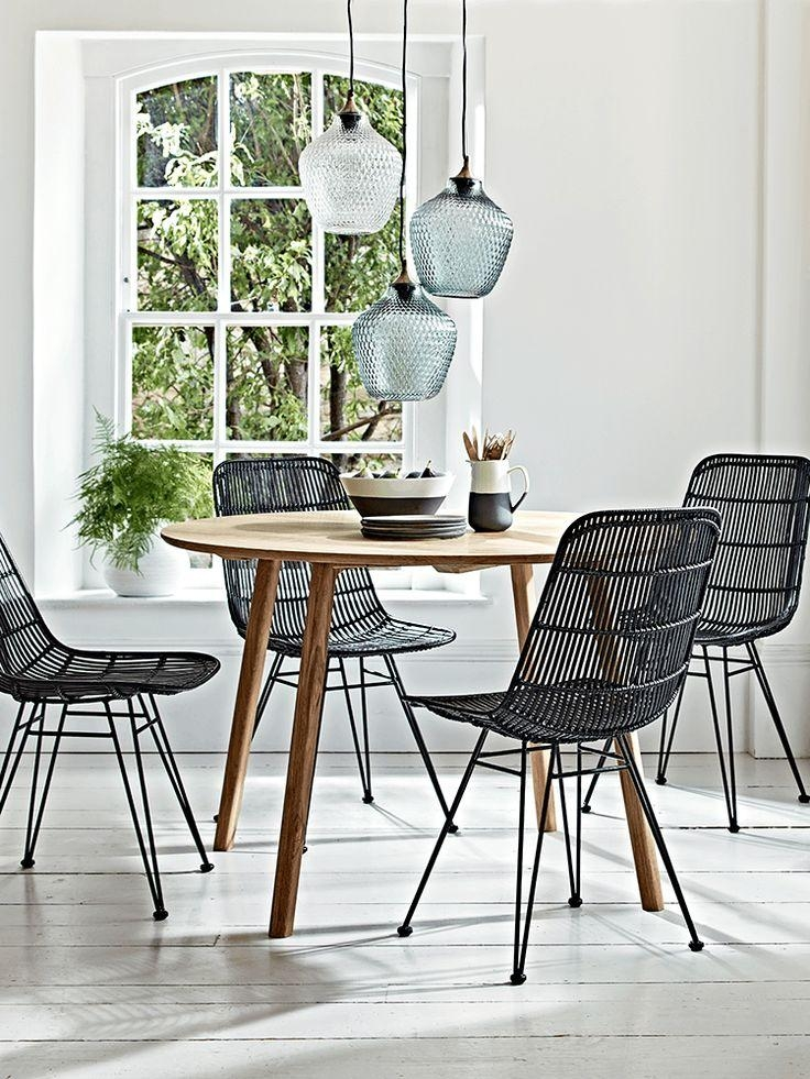 Best 10 Rattan Dining Chairs Ideas On Pinterest House Doctor Within Most Up To Date Black Dining Chairs (View 18 of 20)