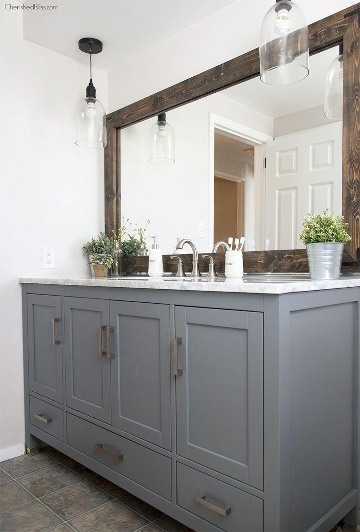 Best 20 Bathroom Vanity Mirrors Ideas On Pinterest In Vanity Pertaining To Bathroom Vanity Mirrors (Image 11 of 20)