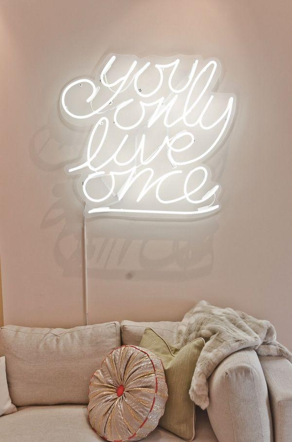 Best 20+ Neon Signs For Bedroom Ideas On Pinterest—No Signup Within Neon Light Wall Art (View 9 of 20)