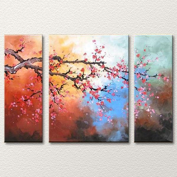 Best 25+ 3 Piece Canvas Art Ideas On Pinterest | Fall Canvas For 3 Piece Floral Wall Art (View 3 of 20)