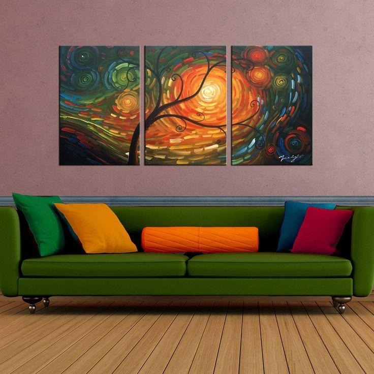 Best 25+ 3 Piece Canvas Art Ideas On Pinterest | Fall Canvas Throughout Three Piece Canvas Wall Art (Image 10 of 20)