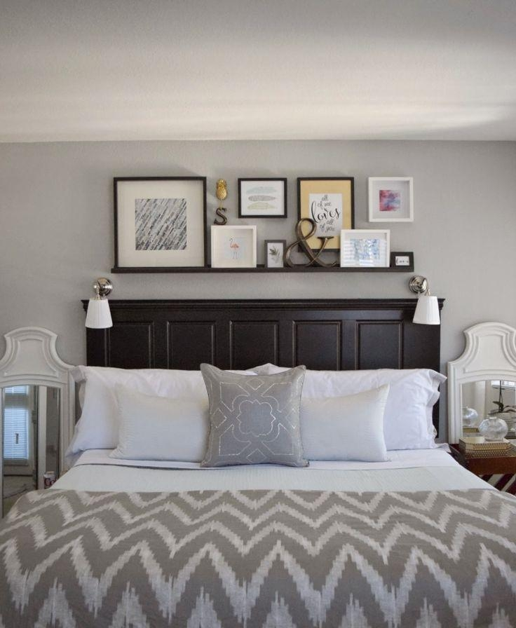 Best 25+ Above Bed Decor Ideas On Pinterest | Above Headboard In Wall Art Over Bed (View 7 of 20)
