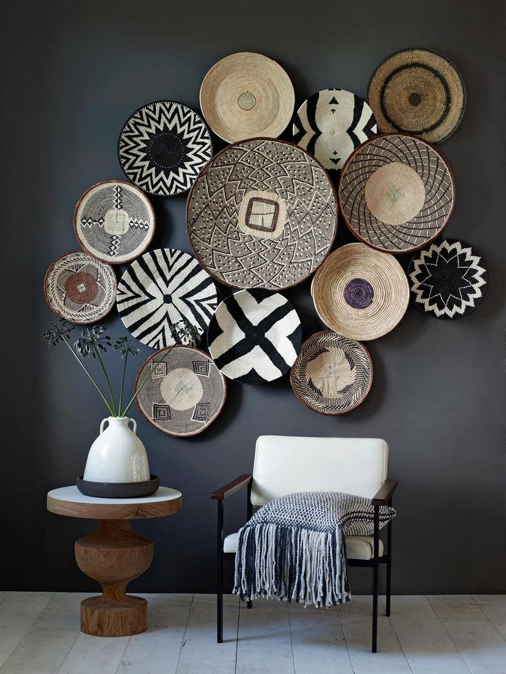 Best 25+ African Wall Art Ideas On Pinterest | African Interior Intended For Midnight Italian Plates Wall Art (Image 13 of 20)