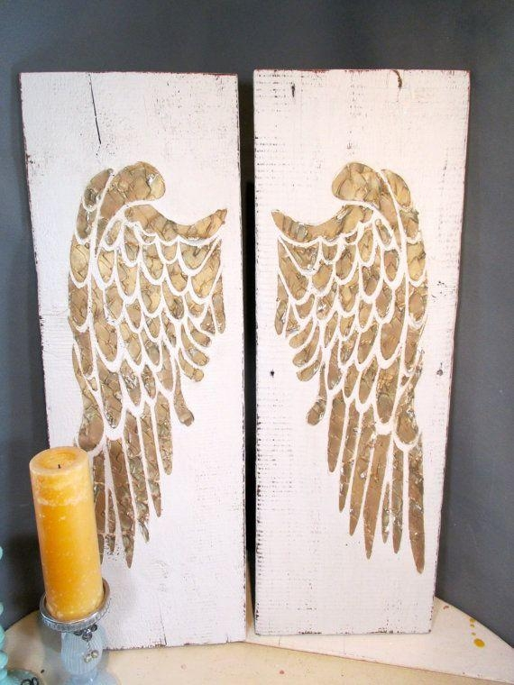 Best 25+ Angel Wings Wall Decor Ideas On Pinterest | Angel Wings Throughout Angel Wing Wall Art (View 3 of 20)