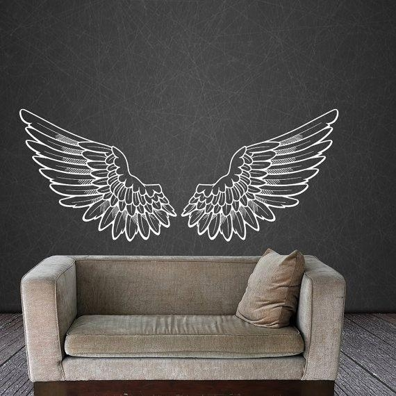 Best 25+ Angel Wings Wall Decor Ideas On Pinterest | Angel Wings Within Angel Wing Wall Art (View 8 of 20)