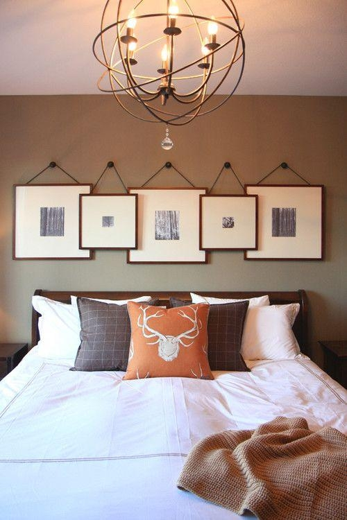 Featured Image of Wall Art Over Bed