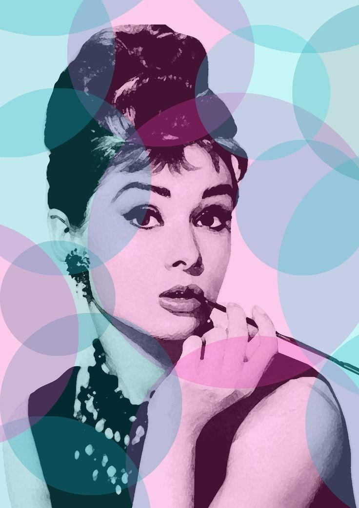 Best 25+ Audrey Hepburn Poster Ideas On Pinterest | Audrey Hepburn In Glamorous Audrey Hepburn Wall Art (Image 14 of 20)