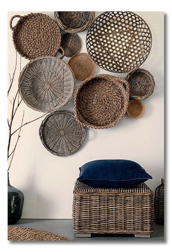 Best 25+ Baskets On Wall Ideas On Pinterest | Home Decor Baskets With Wicker Rattan Wall Art (Image 2 of 20)