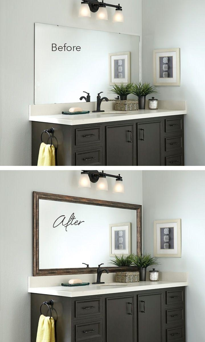 Best 25+ Bathroom Mirrors Ideas On Pinterest | Farmhouse Kids Inside Bathroom Mirrors Ideas With Vanity (Image 11 of 20)