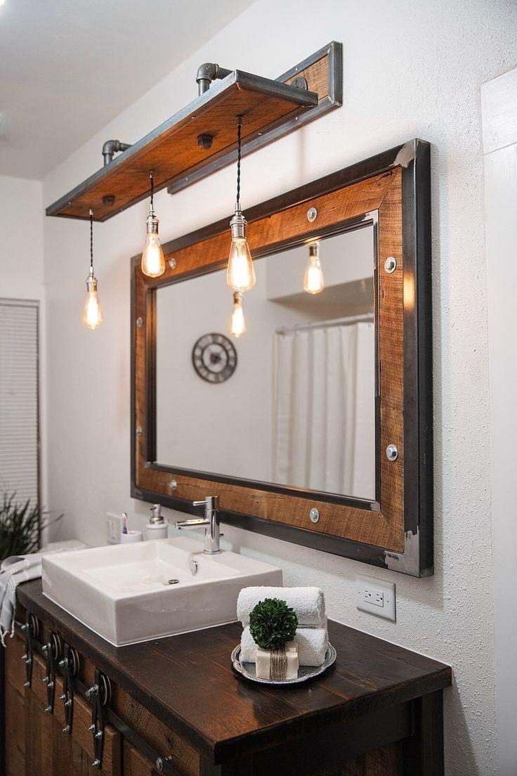 Best 25+ Bathroom Vanity Lighting Ideas On Pinterest | Interior Pertaining To Bathroom Mirrors Ideas With Vanity (Image 13 of 20)