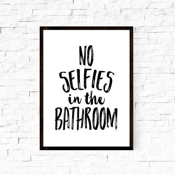 Best 25+ Bathroom Wall Art Ideas On Pinterest | Wall Decor For In Black And White Bathroom Wall Art (View 9 of 20)