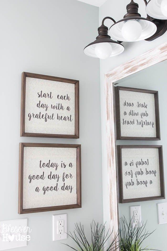 Best 25+ Bathroom Wall Art Ideas On Pinterest | Wall Decor For Pertaining To Bathroom Wall Hangings (Image 9 of 20)