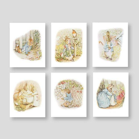 Best 25+ Beatrix Potter Nursery Ideas On Pinterest | Peter Rabbit Pertaining To Peter Rabbit Nursery Wall Art (View 18 of 20)