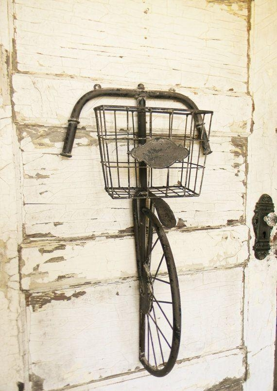 Best 25+ Bicycle Decor Ideas On Pinterest | Bike Art, Bicycle Art For Metal Bicycle Art (Image 3 of 20)